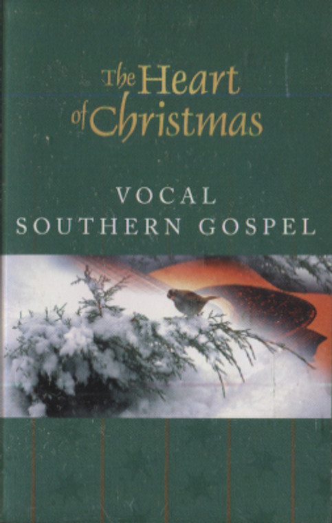 Various Artists: The Heart of Christmas, Vocal Southern Gospel - Audio Cassette Tape