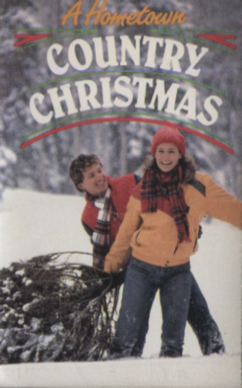 Various Artists: A Hometown Country Christmas - Audio Cassette Tape