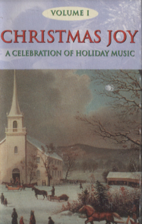 Various Artists: Christmas Joy, A Celebration of Holiday Music, Volume 1 - Audio Cassette Tape