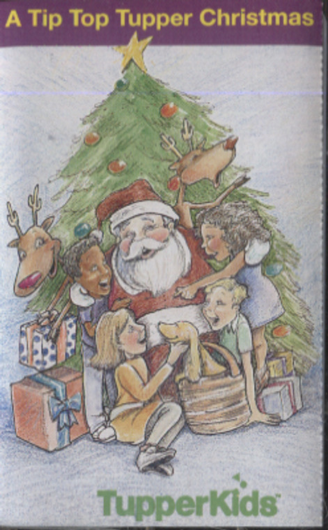 TupperKids: A Tip Top Tupper Christmas - Tupperware Collector Audio Cassette Tape