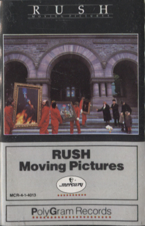 Rush: Moving Pictures - Audio Cassette Tape