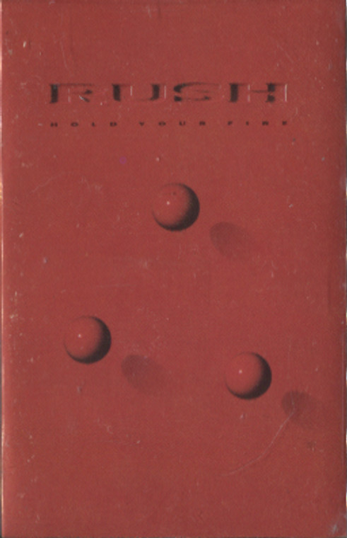 Rush: Hold Your Fire - Audio Cassette Tape