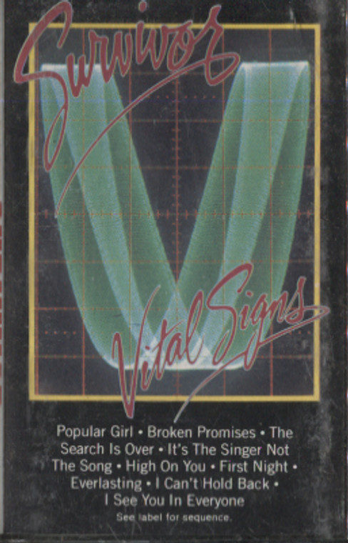 Survivor: Vital Signs - Audio Cassette Tape