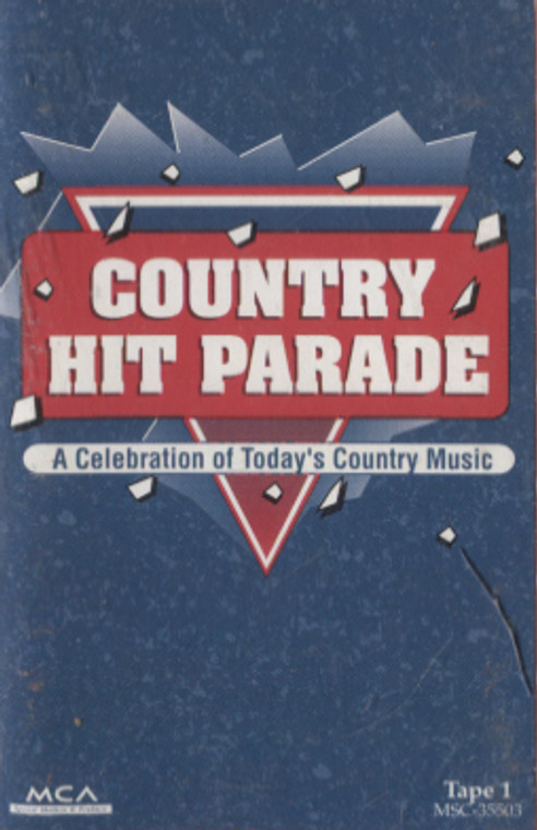Various Artists: Country Hit Parade, Tape 1 - Audio Cassette Tape