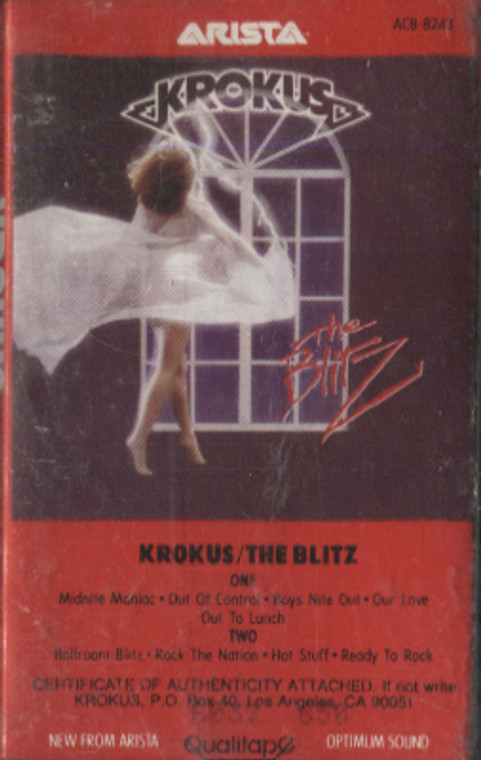 Krokus: The Blitz - Audio Cassette Tape