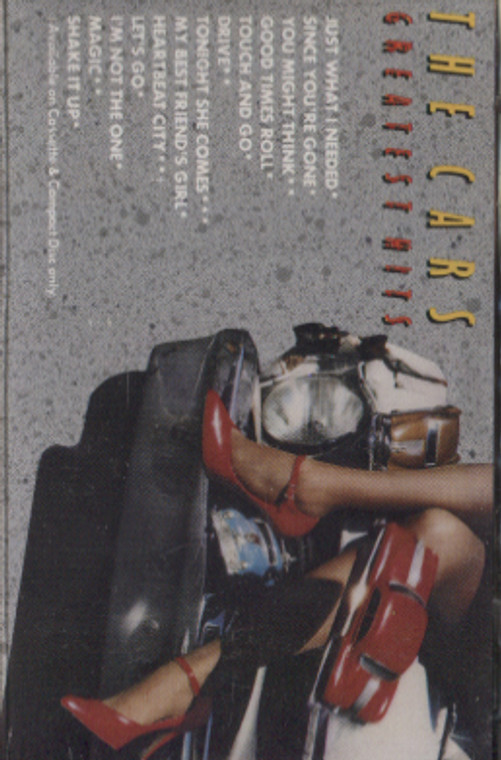 The Cars: The Cars Greatest Hits - Audio Cassette Tape