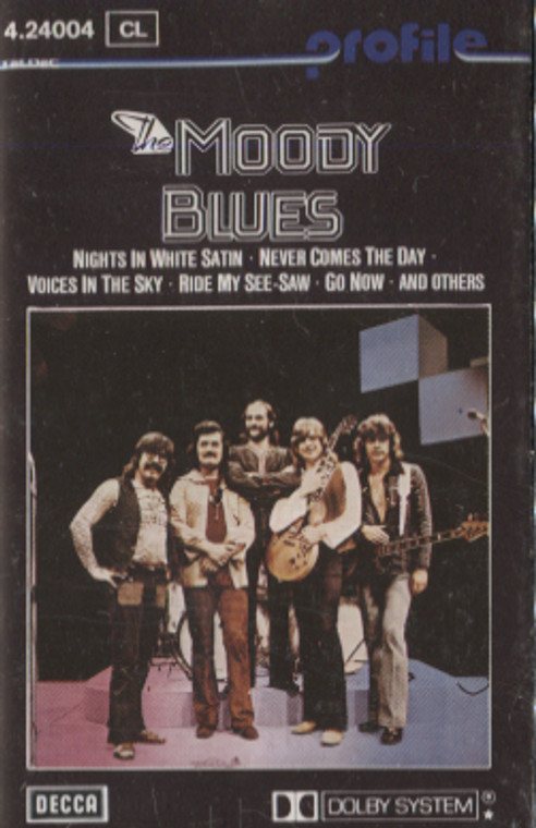Moody Blues: The Moody Blues - Self-Titled Germany Import Audio Cassette Tape