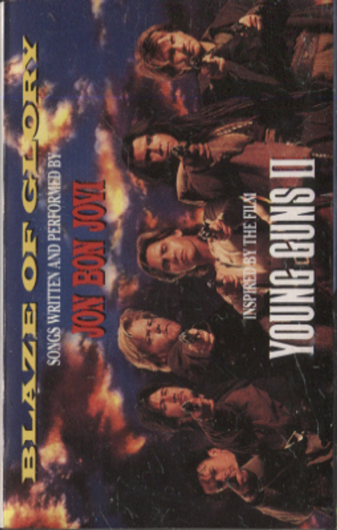 Jon Bon Jovi: Blaze of Glory / Young Guns II - Audio Cassette Tape