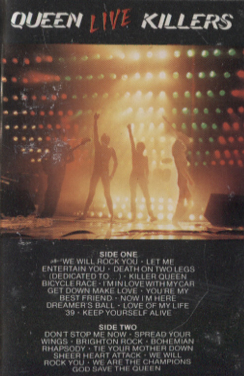 Queen: Live Killers - Audio Cassette Tape