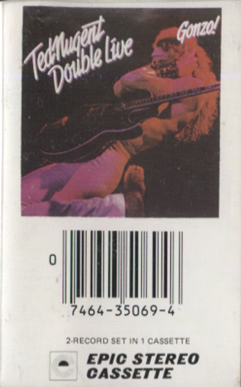Ted Nugent: Double Live Gonzo - Audio Cassette Tape