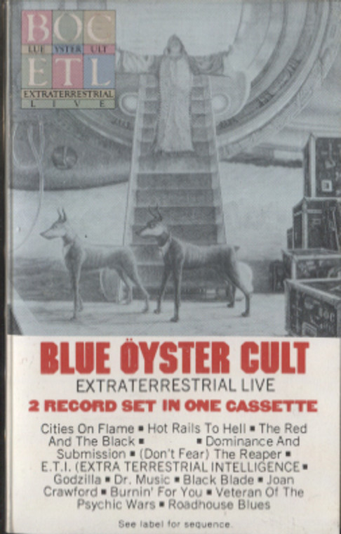 Blue Oyster Cult: Extraterrestrial Live - Audio Cassette Tape