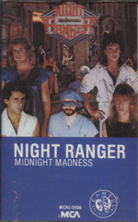 Night Ranger: Midnight Madness - Audio Cassette Tape