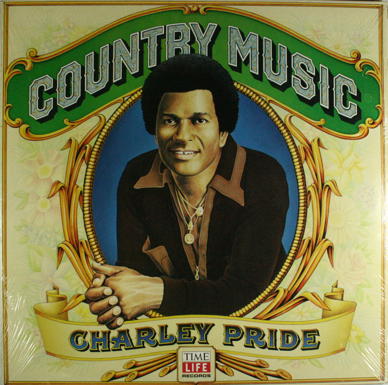 Charley Pride: Country Music - Time Life Still Sealed LP Vinyl Record Album