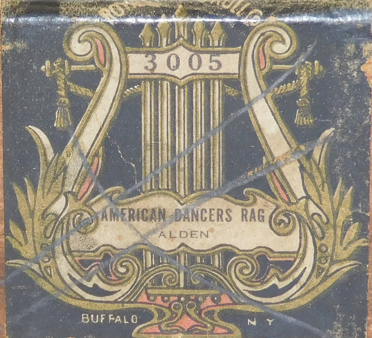 American Dancers Rag (#3005 Royal Music Roll Co.) - Antique Player Piano Roll