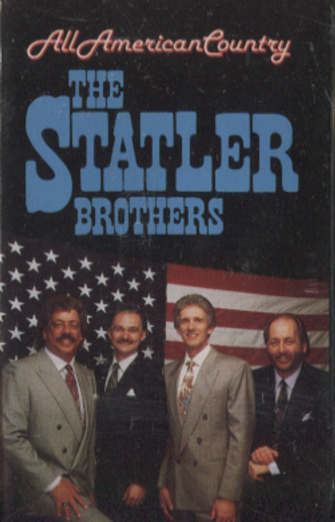 The Statler Brother: All American Country - Audio Cassette Tape