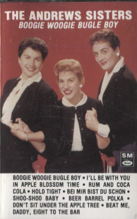The Andrews Sisters: Boogie Woogie Bugle Boy - Audio Cassette Tape