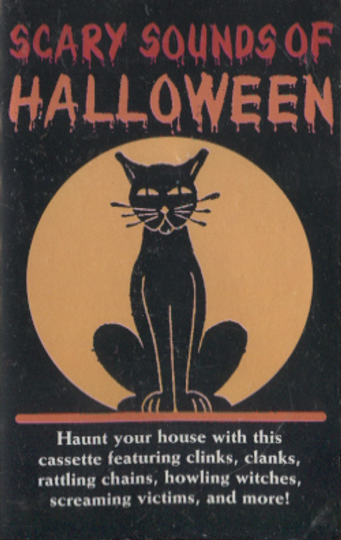 K-Tel Scary Sounds of Halloween - Audio Cassette Tape