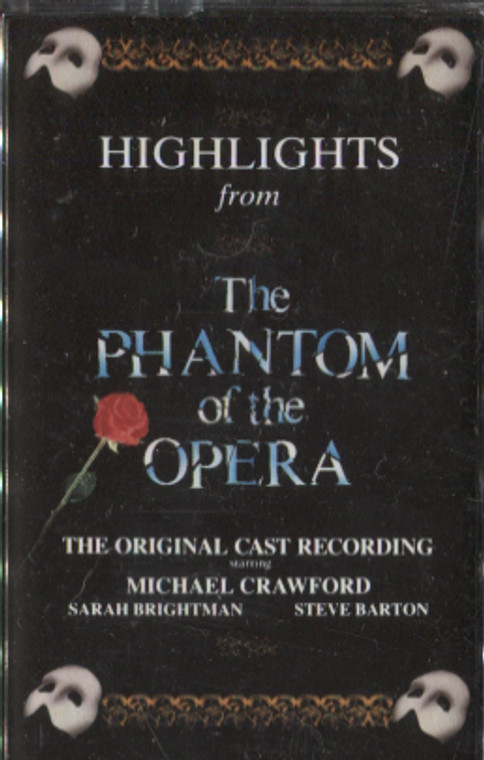 Various Artists: Highlights from the Phantom of the Opera - Audio Cassette Tape