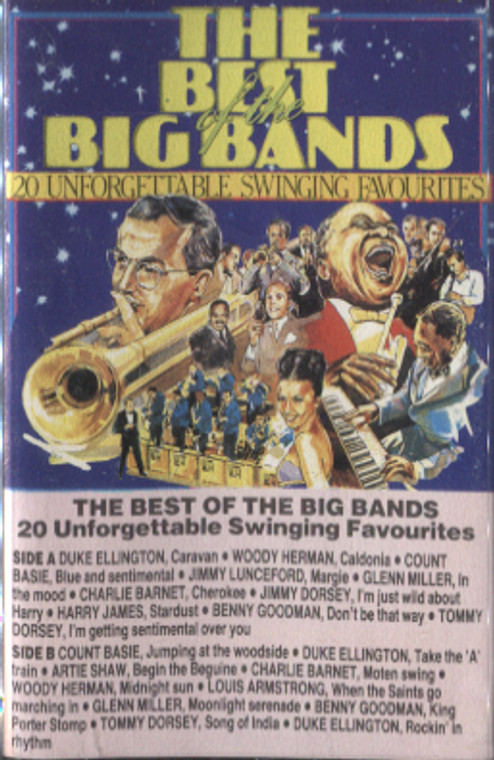 Various Artists: The Best of the Big Bands - Audio Cassette Tape
