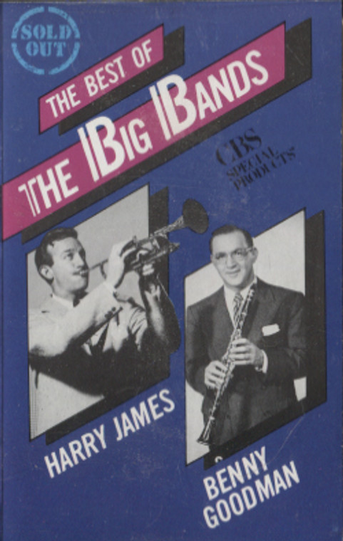 Benny Goodman / Harry James: The Best of the Big Bands - Audio Cassette Tape