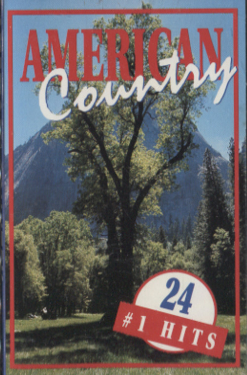 Various Artists: American Country, 24 #1 Hits - Audio Cassette Tape