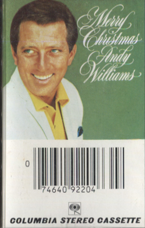 Andy Williams: Merry Christmas - Vintage Audio Cassette Tape