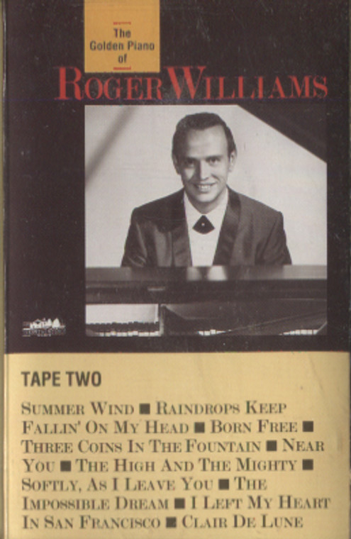 Roger Williams: The Golden Piano of Roger Williams, Tape 2 - Audio Cassette Tape