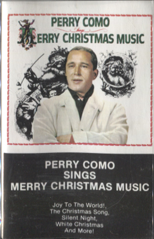Perry Como: Sings Merry Christmas Music - Vintage Audio Cassette Tape