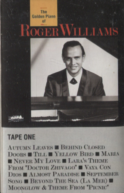 Roger Williams: The Golden Piano of Roger Williams, Tape 1 - Audio Cassette Tape