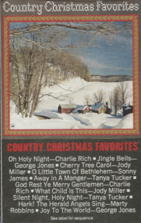 Various Artists: Country Christmas Favorites - Audio Cassette Tape