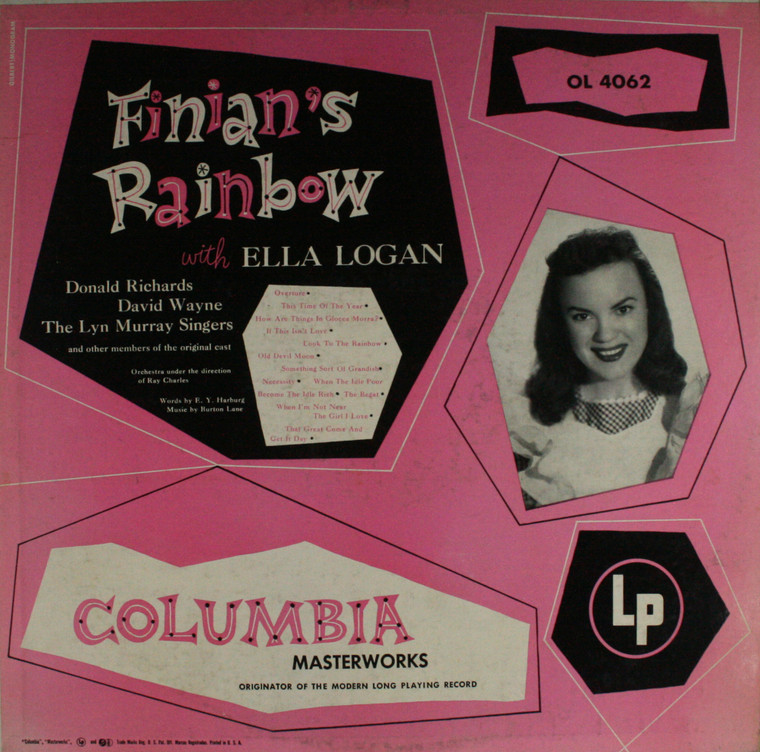 Various Artists: Finian's Rainbow - LP Vinyl Record Album