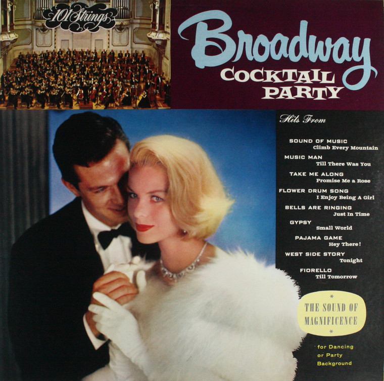 101 Strings: Broadway Cocktail Party - LP Vinyl Record Album