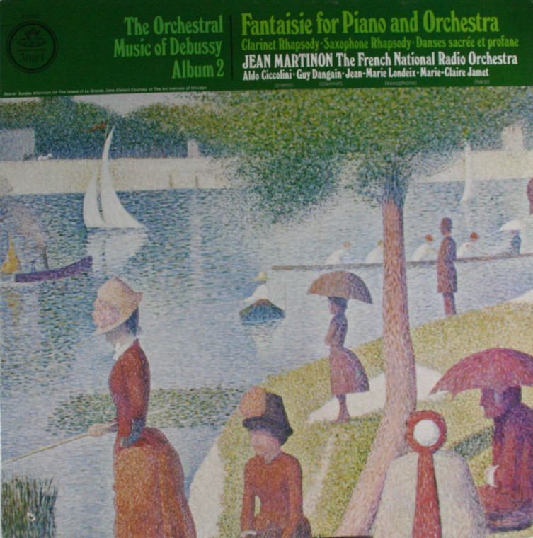 The French National Radio Orchestra: The Orchestral Music of Debussy, Album 2 - LP Vinyl Record Album