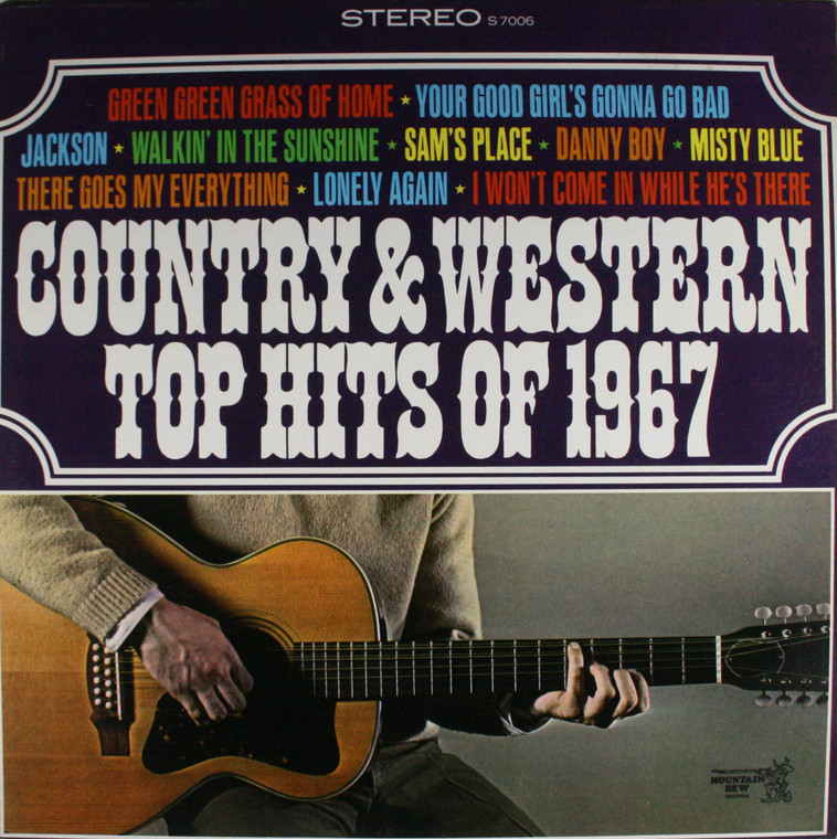 Various Artists: Country & Western Top Hits of 1967 - LP Vinyl Record Album