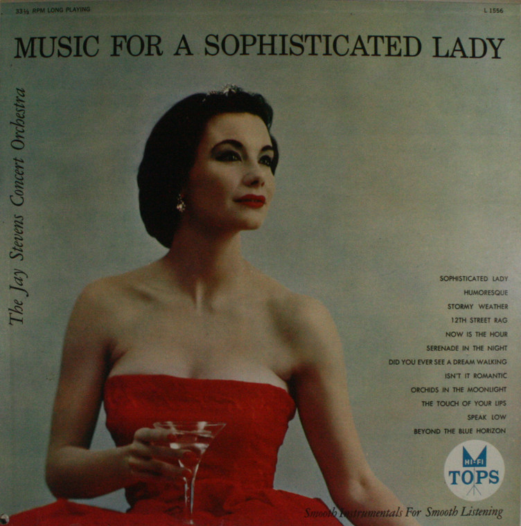 The Jay Stevens Concert Orchestra: Music for a Sophisticated Lady - LP Vinyl Record Album