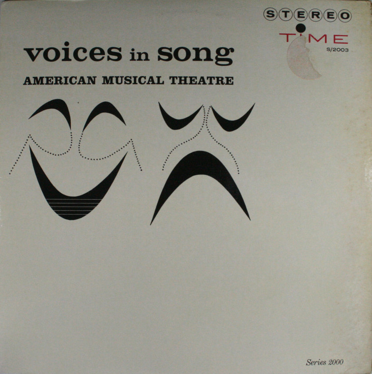 Various Artists: Voices in Song, American Musical Theatre - LP Vinyl Record Album