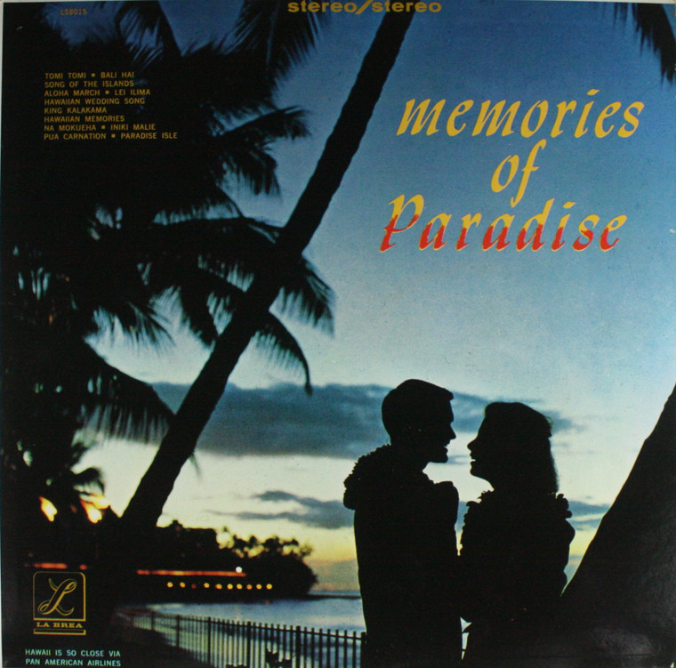 Various Artists: Memories of Paradise - LP Vinyl Record Album
