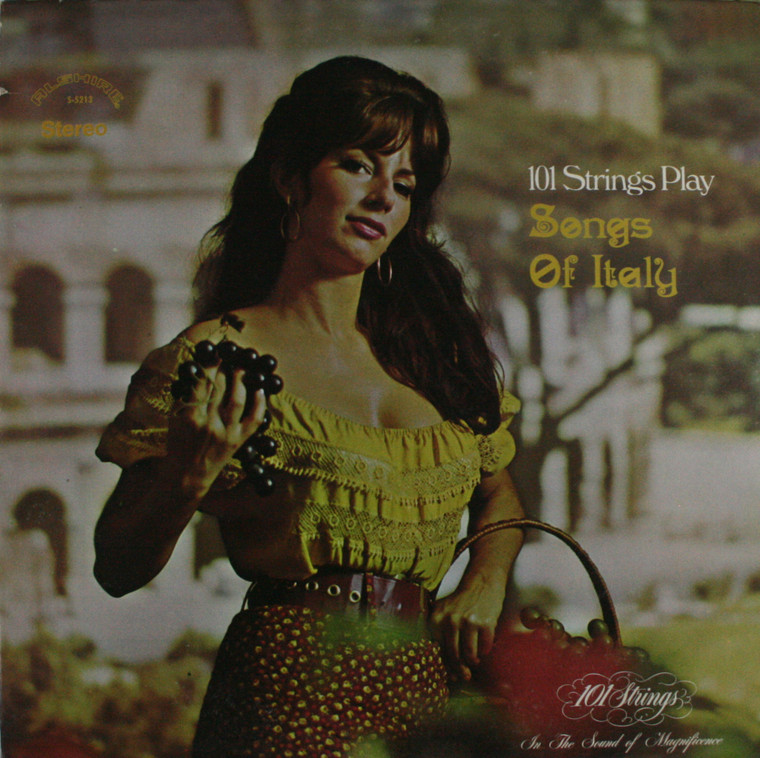 101 Strings: Play Songs of Italy - LP Vinyl Record Album