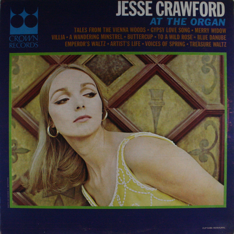 Jesse Crawford: At the Organ - LP Vinyl Record Album