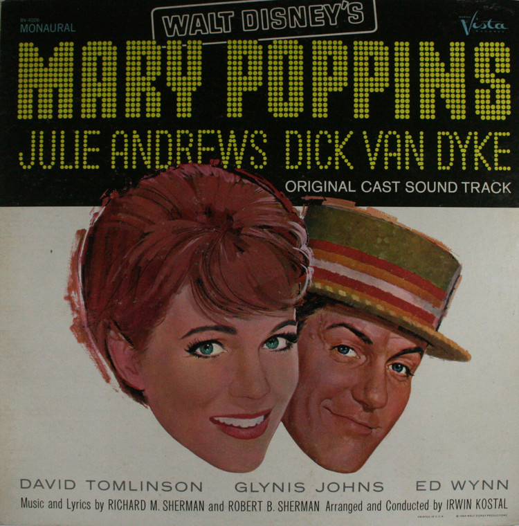 Various Artists: Walt Disney's Mary Poppins, Original Cast Soundtrack - LP Vinyl Record Album