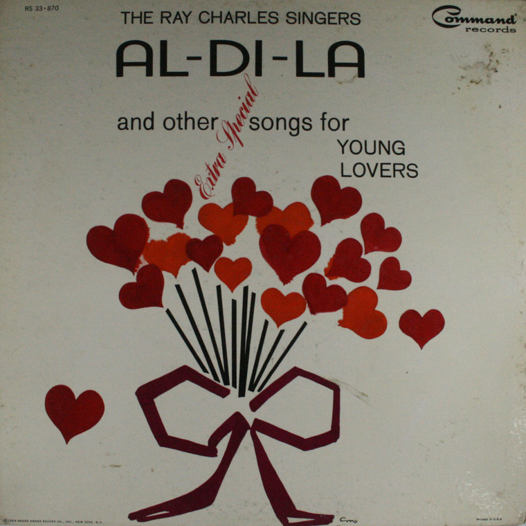 The Ray Charles Singers: Al-Di-La - LP Vinyl Record Album