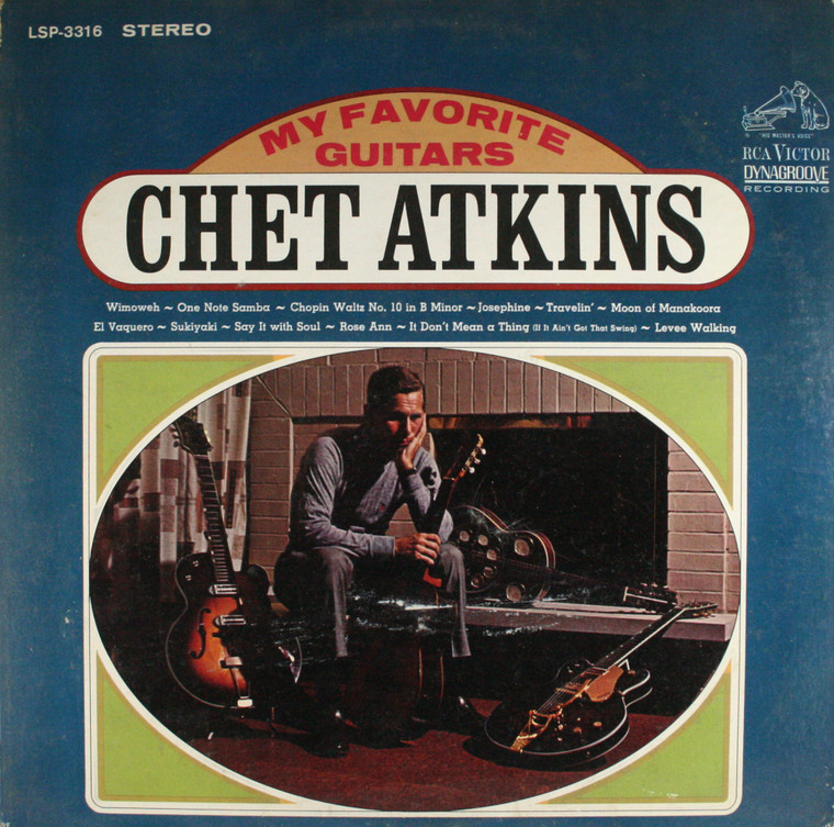 Chet Atkins: My Favorite Guitars - LP Vinyl Record Album