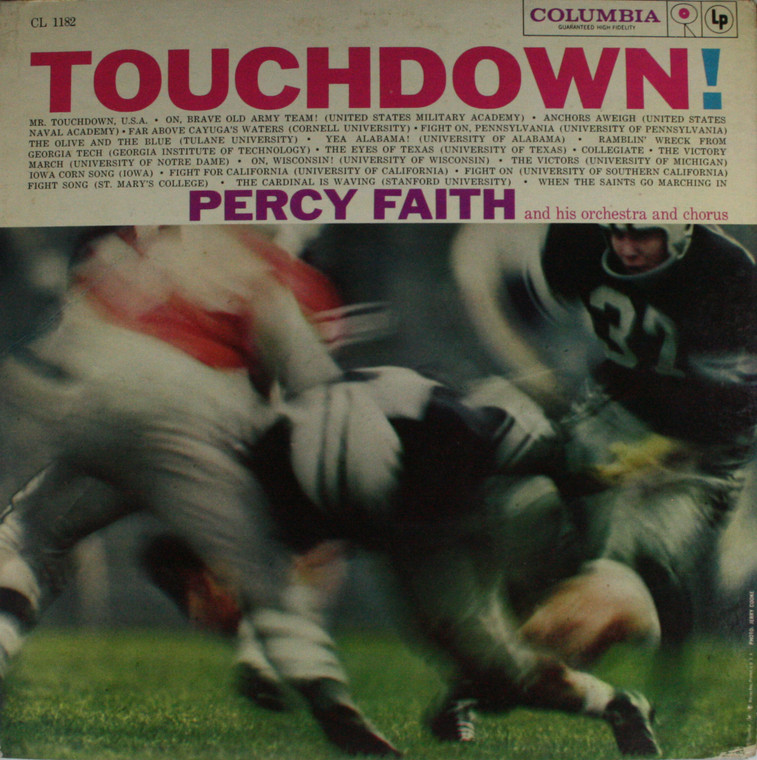 Percy Faith: Touchdown! - LP Vinyl Record Album