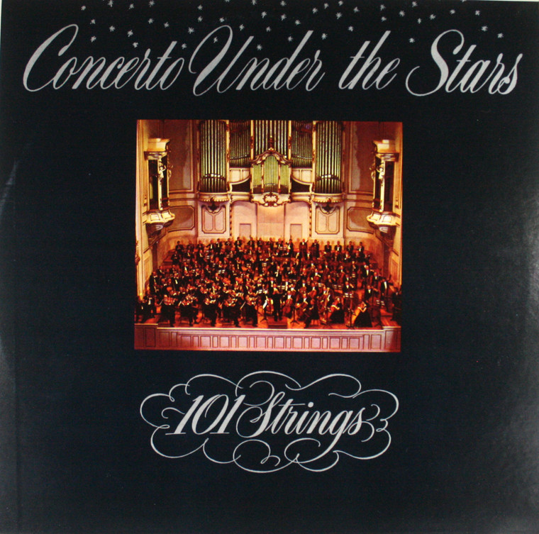 101 Strings: Concerto Under the Stars - LP Vinyl Record Album