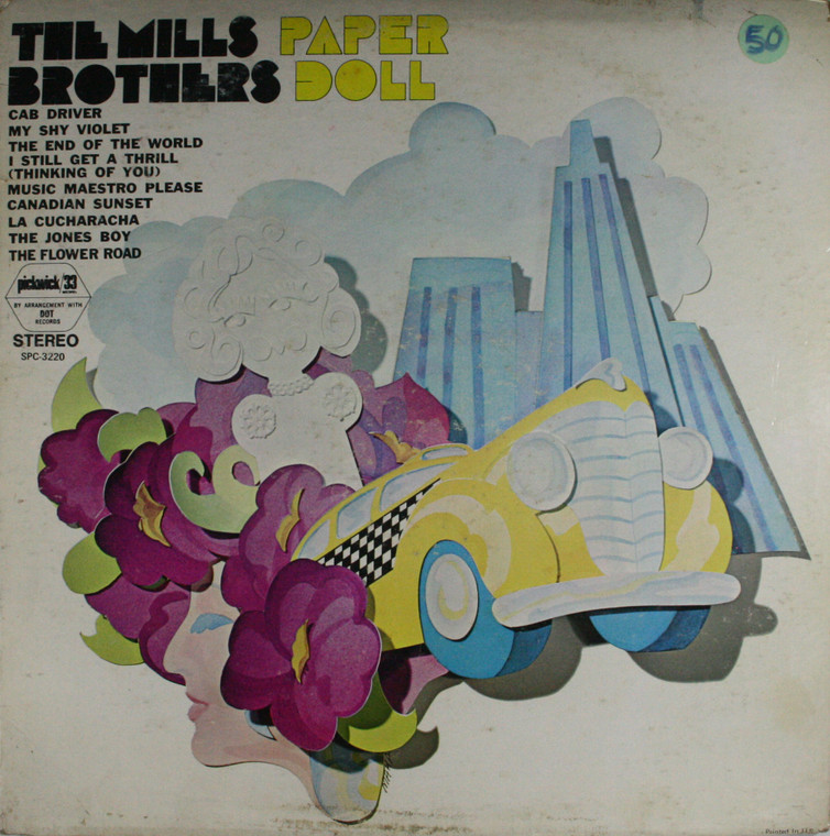 The Mills Brothers: Paper Doll - LP Vinyl Record Album