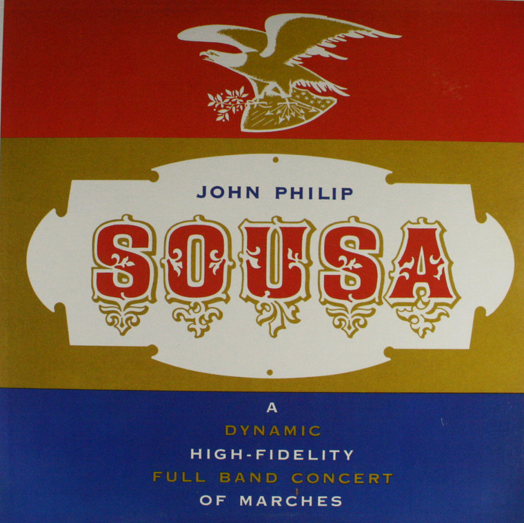 The Pride of the '48 Band: Sousa Marches - LP Vinyl Record Album