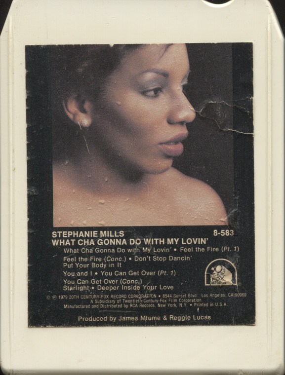 Stephanie Mills: Whatcha Gonna Do with My Love - Vintage 8 Track Tape