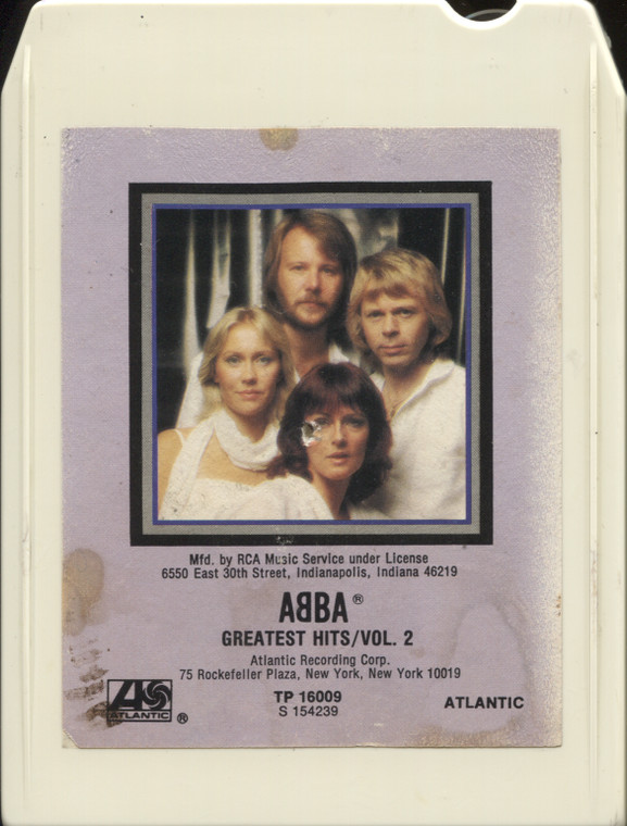 Abba: Greatest Hits, Volume 2 - Vintage 8 Track Tape
