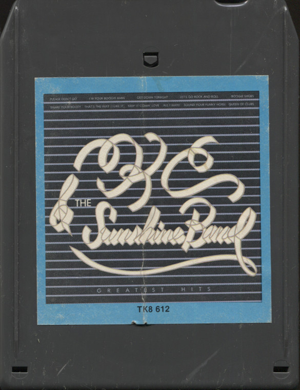 KC and the Sunshine Band: Greatest Hits - Vintage 8 Track Tape