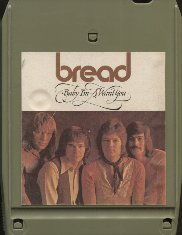 Bread: Baby I'm-A Want You - Vintage 8 Track Tape